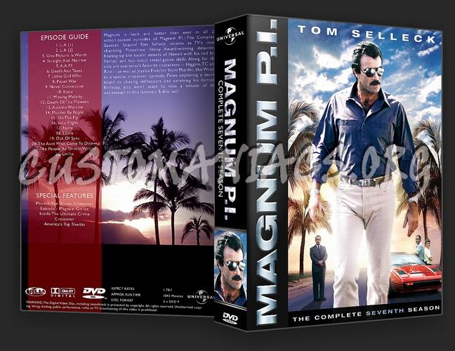 Magnum P.I. Complete Season 1-8 dvd cover