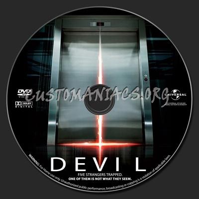 Devil dvd label