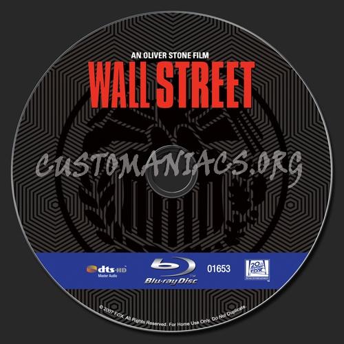 Wall Street blu-ray label
