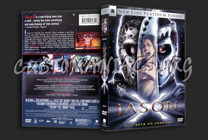Jason X dvd cover