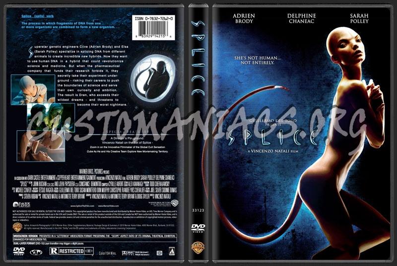 Splice dvd cover
