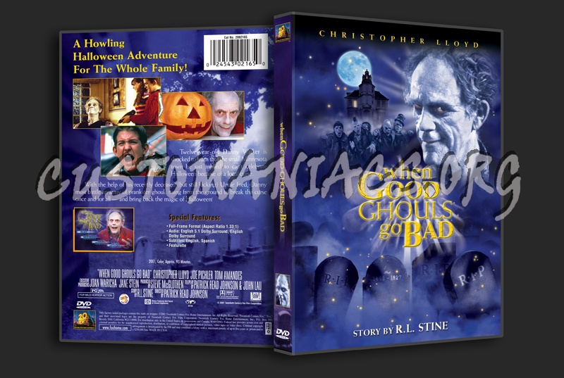 When Good Ghouls Go Bad dvd cover