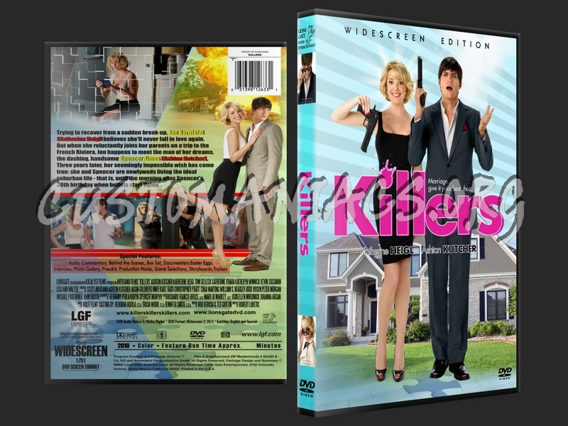 Killers dvd cover - DVD Covers & Labels by Customaniacs, id