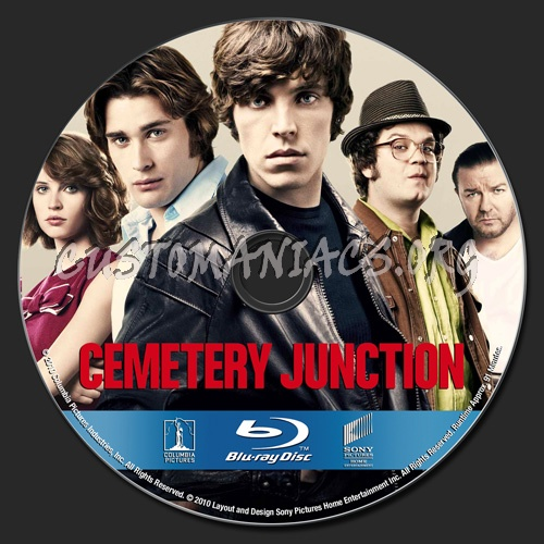 Cemetery Junction blu-ray label