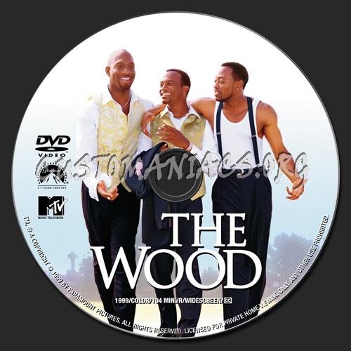 The Wood dvd label