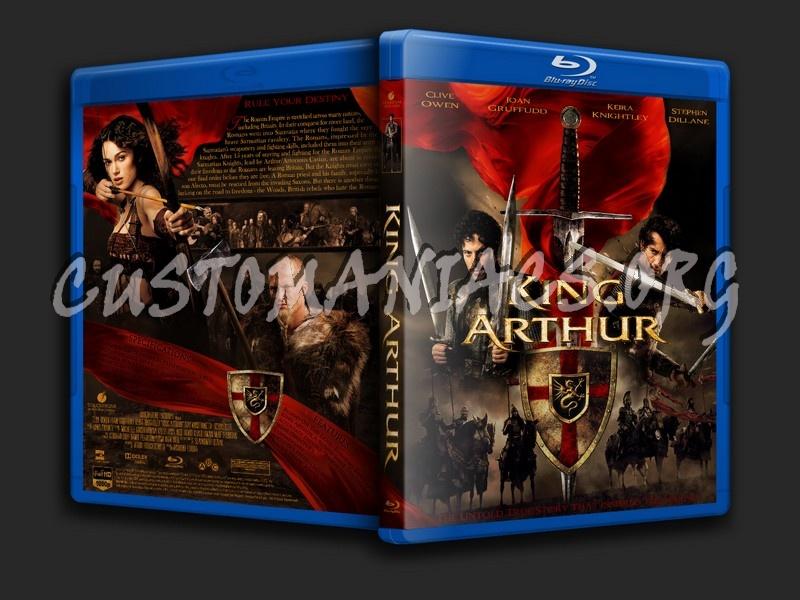 King Arthur blu-ray cover