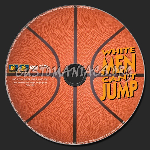 White Men Can't Jump dvd label