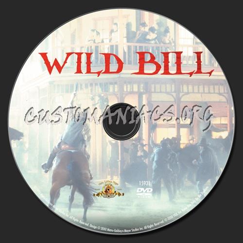 Wild Bill dvd label