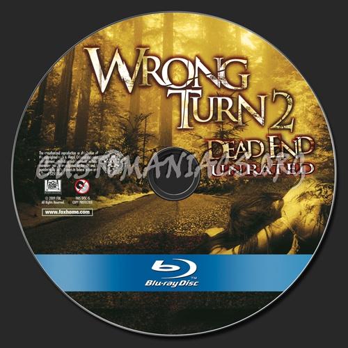 Wrong Turn 2 blu-ray label