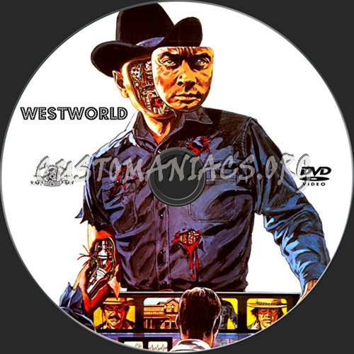 Westworld dvd label