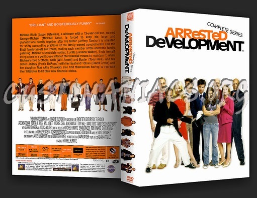 Arrested Development (Complete Series) dvd cover