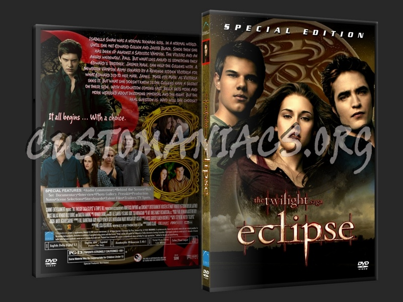 The Twilight Saga Eclipse dvd cover