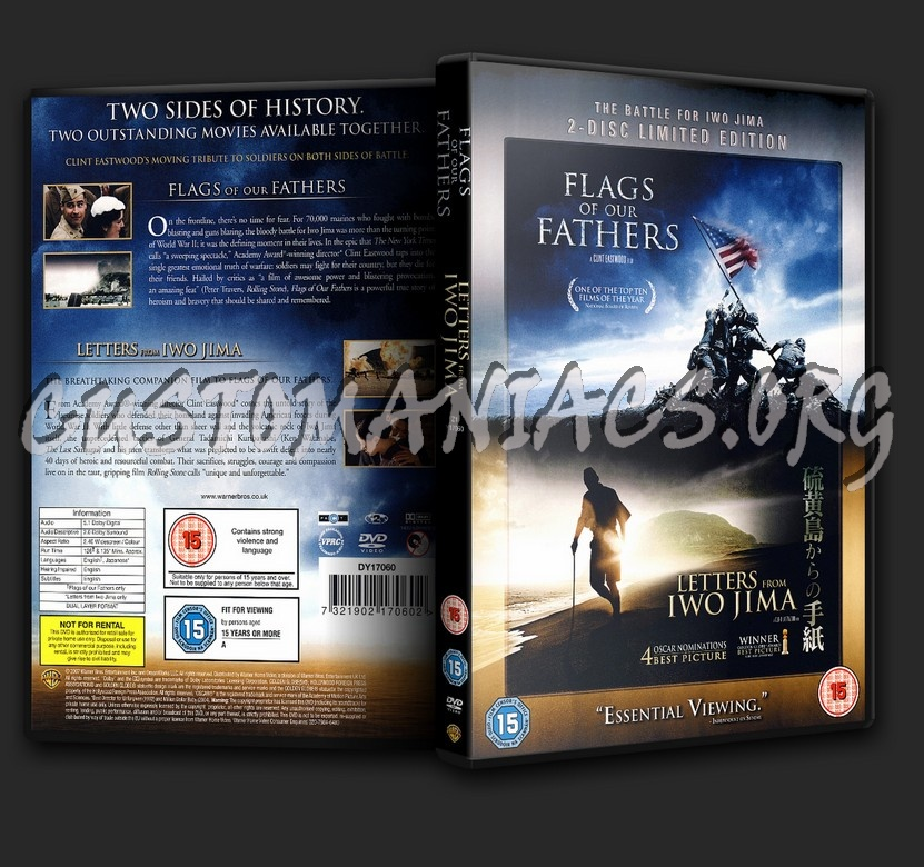 Flags Of Our Fathers - Letters From Iwo Jima dvd cover