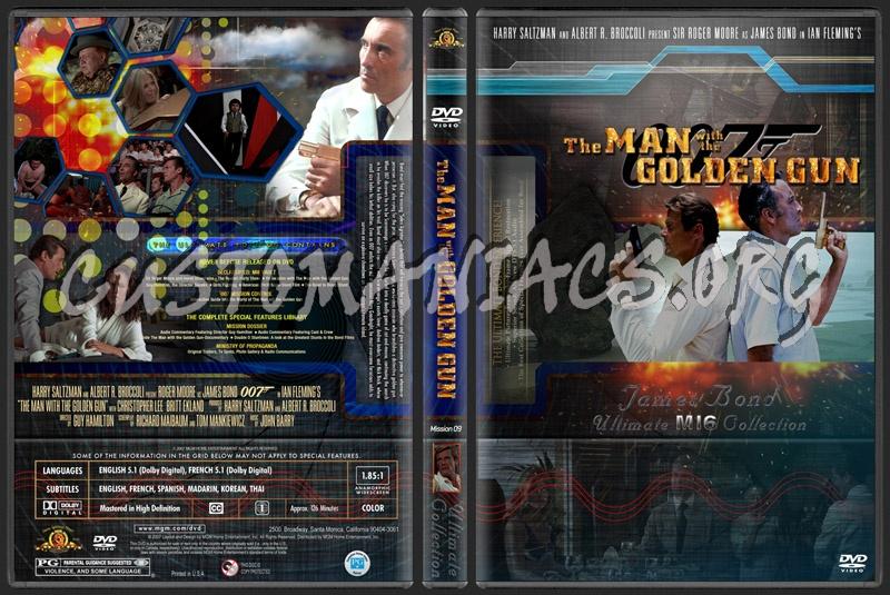 James Bond - The Man with the Golden Gun dvd cover