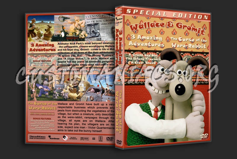 Wallace & Gromit Double Feature dvd cover