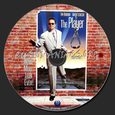 The Player blu-ray label