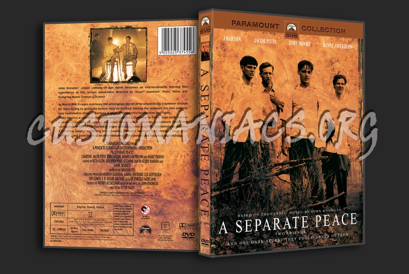 A Separate Peace dvd cover