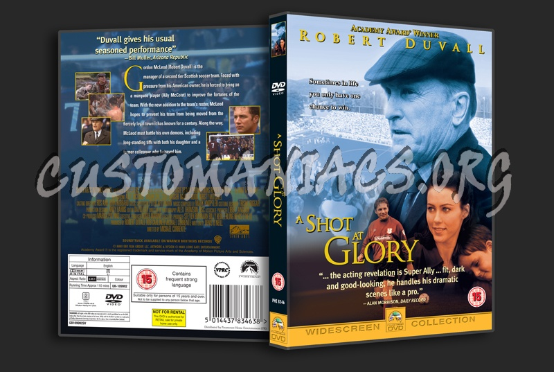 A Shot At Glory Dvd Cover