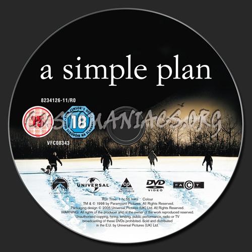 Simple Plan Dvd a Simple Plan Dvd Label