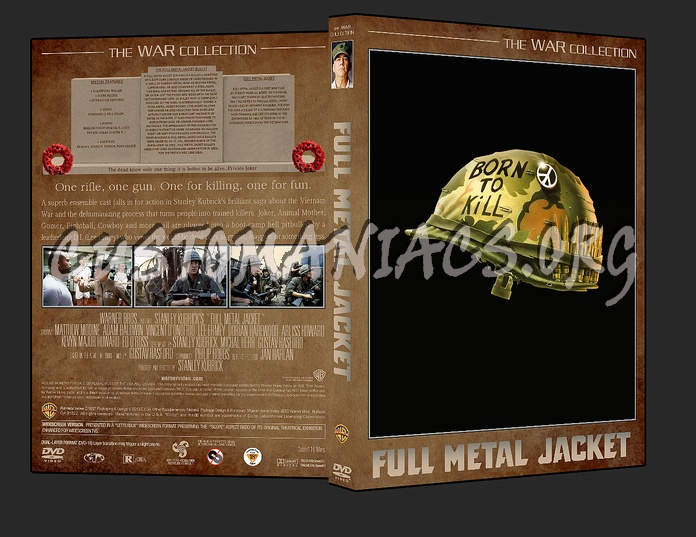 War Collection Full Metal Jacket dvd cover