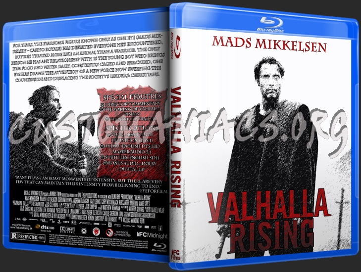 Valhalla Rising blu-ray cover