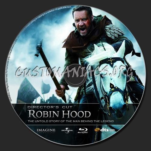 Robin Hood blu-ray label
