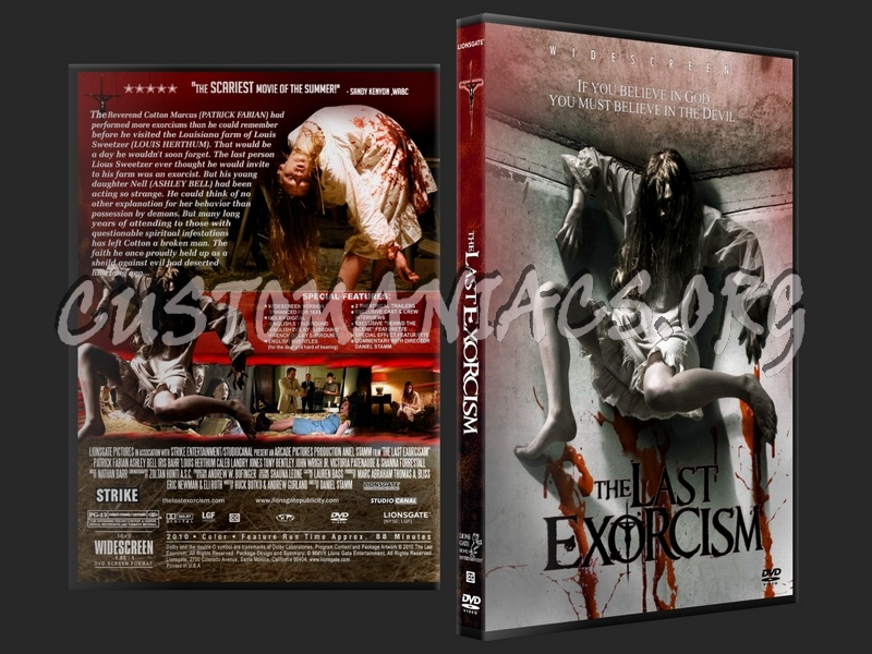The Last Exorcism dvd cover