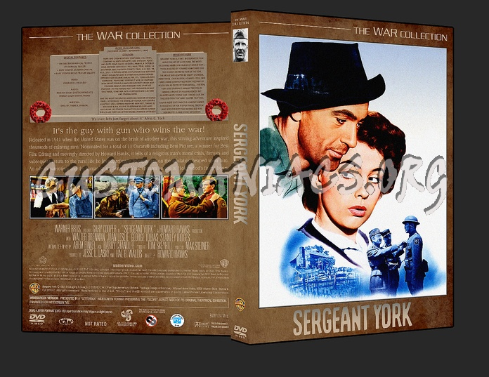 War Collection Sergeant York dvd cover