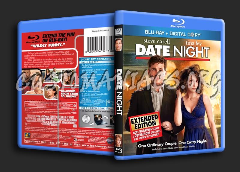 Date Night blu-ray cover