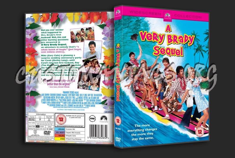 A Very Brady Sequel Dvd Cover