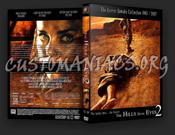 The Hills Have Eyes 2 dvd cover