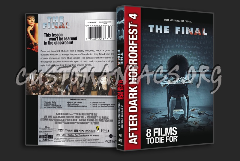 The Final dvd cover