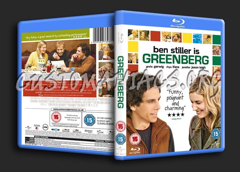 Greenberg blu-ray cover