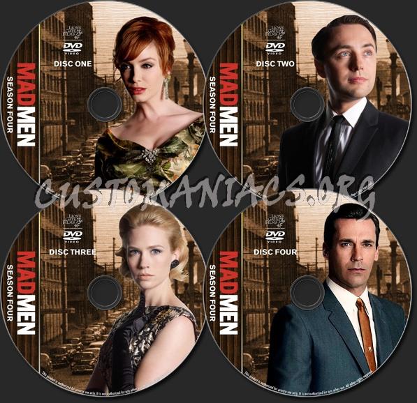 Mad Men - TV Collection - Season 4 dvd label