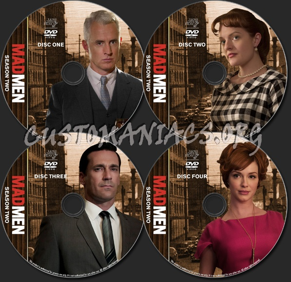 Mad Men - TV Collection - Season 2 dvd label