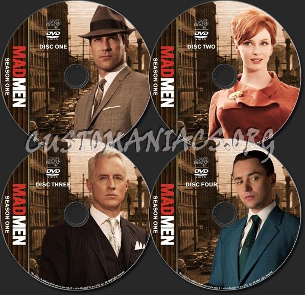 Mad Men - TV Collection - Season 1 dvd label