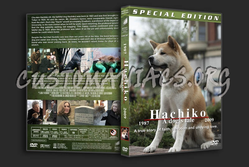 Hachiko Double Feature dvd cover - DVD Covers & Labels by ...