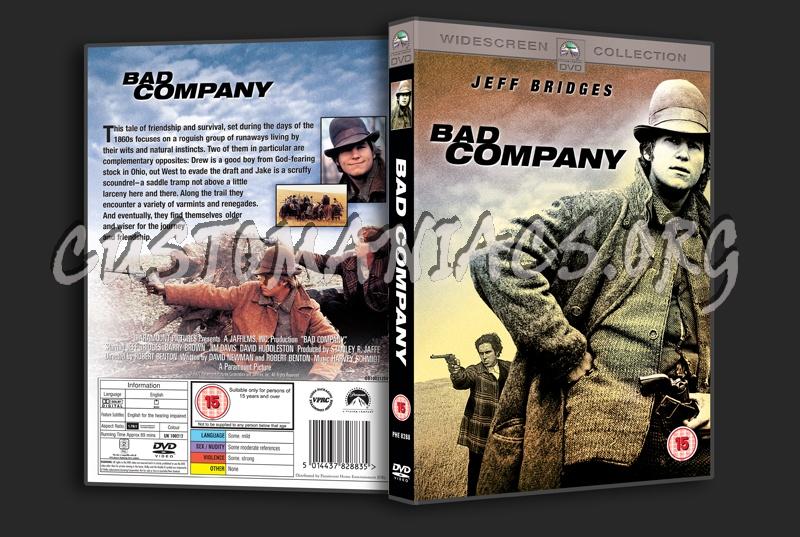 Bad Company (1972) dvd cover