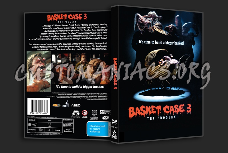 Basket Case 3 dvd cover