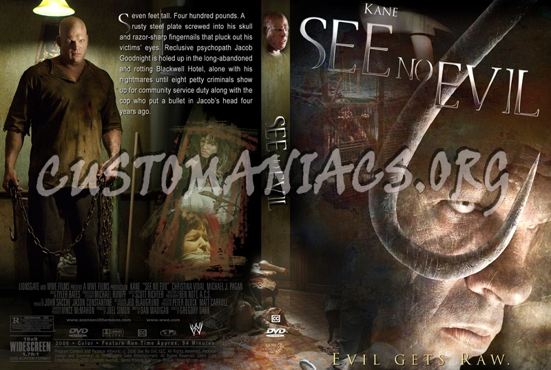 See No Evil dvd cover