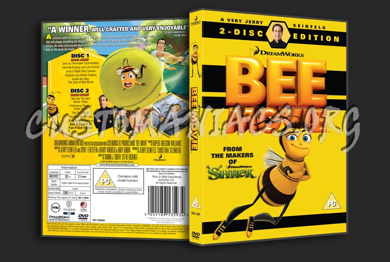 posts bee movie dvd cover share...