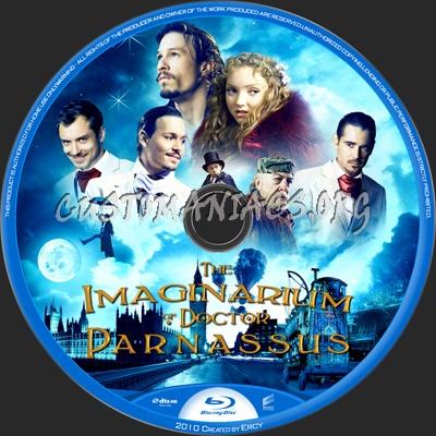 The Imaginarium Of Doctor Parnassus blu-ray label