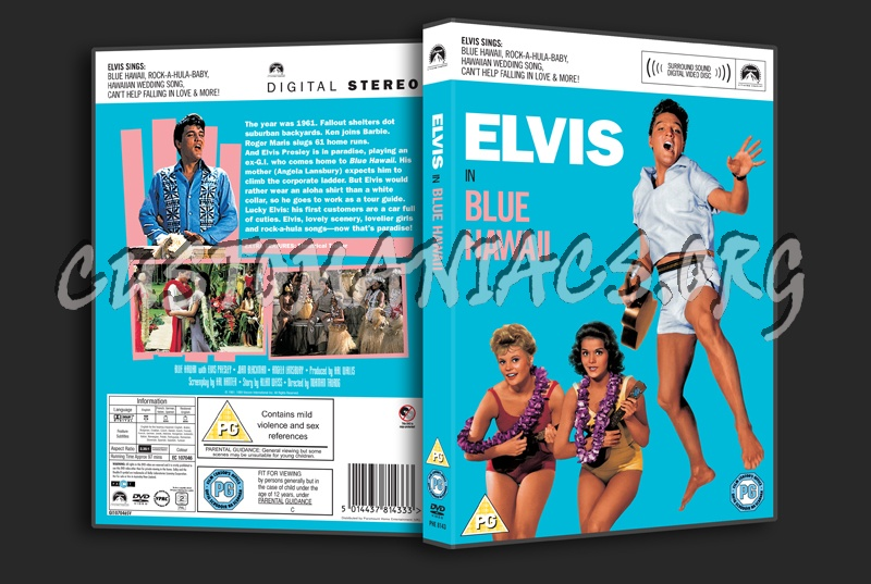Blue Hawaii dvd cover - DVD Covers & Labels by Customaniacs, id: 115881 free download highres ...