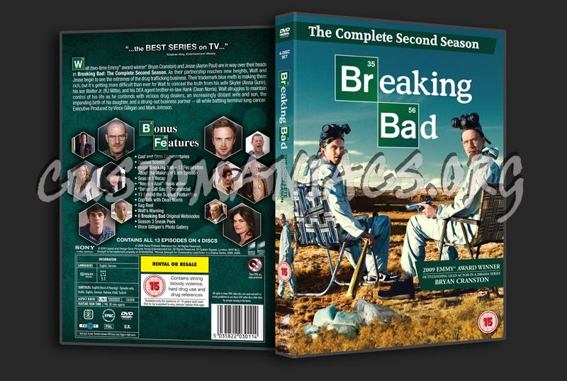 Breaking Bad Season 2 dvd cover