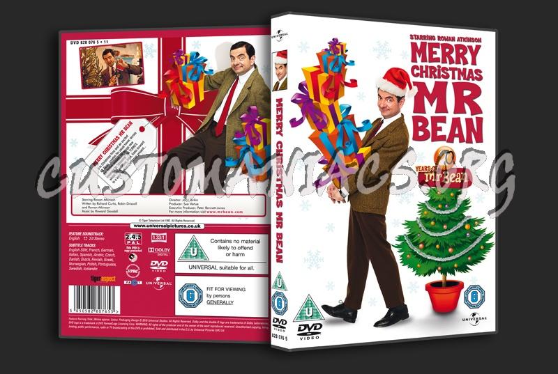 merry christmas mr bean dvd cover - Merry Christmas Mr Bean
