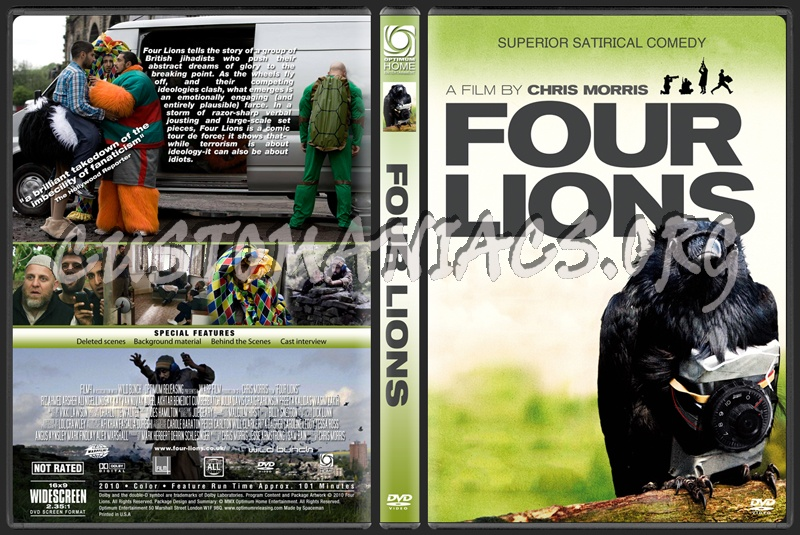 Four Lions dvd cover