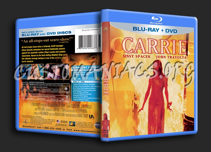 Carrie blu-ray cover