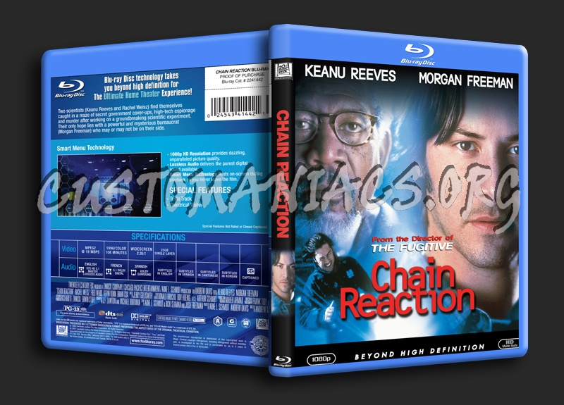 Chain Reaction blu-ray cover