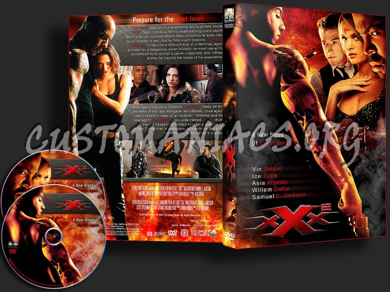 XXX / XXX 2 State Of The Union dvd cover