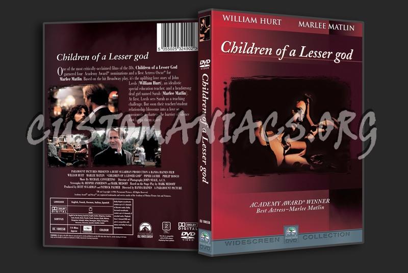 Children of a Lesser God dvd cover